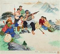 讲传统 (story-telling) by liu xiqi