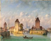 blick auf das alte straßburg? by johann baptist kreitmayr