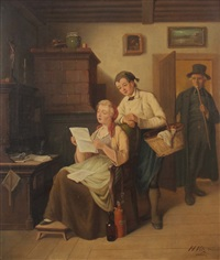 lesestunde by hermann volz