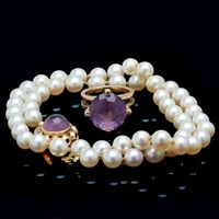 necklace and ring (set of 2) by viggo wollny