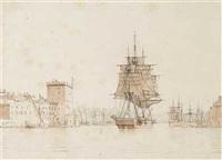 indlobet til havnen i marseille by carl dahl