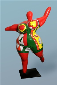 Niki de saint phalle auction results niki de saint phalle on artnet - Nana de niki de saint phalle ...