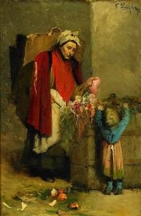 blomsterförsäljerska by ferencz (franz) paczka