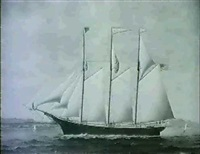 merchant ship william h. allison by james gardner babbidge