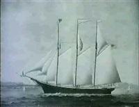 merchant ship william h. allison by james gardner babbidge