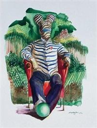 斑马人 (zebra man) by xu xiaoguo