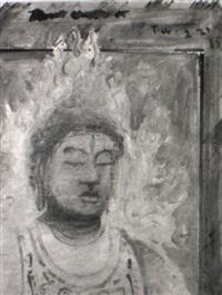 head of buddha, 1985 by tom wudl
