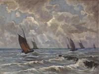 von alter hand. marine mit segelbooten by robert haag