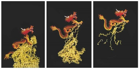 the golden dragon noodle theory series 3 works by angki purbandono