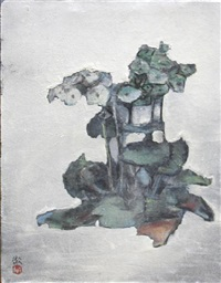 flowers (2 works, various sizes) by suzuki toru
