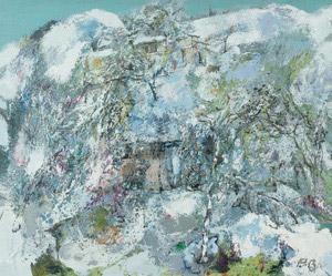 耀银 (landscape in dazzle silver) by hong ling