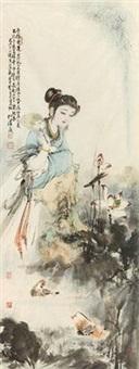 爱莲图 by bai bohua