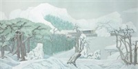 晴雪瑞华 (auspicious snow) by xiao gu