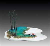 landscape ⅱ by ren shikun