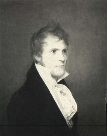 alexander gibson of virginia by john vanderlyn