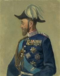 bildnis eines bayerischen generals by louis (ludwig) braun