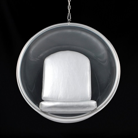 bubble hanging chair by eero aarnio