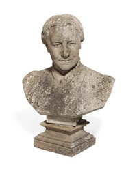 bust of a woman by edwin roscoe mullins