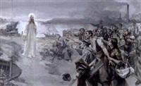 jesus spricht zum leidenden arbeitervolk by josé miralles darmanin