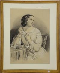 jeune femme by jean-baptiste fresez