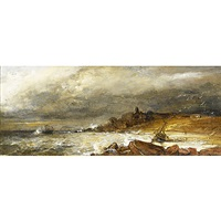 a rocky coast by alexander leggatt