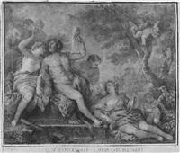 herkules und omphale by charles françois hutin