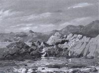 felsenküste bei ragusa by erwin kroner