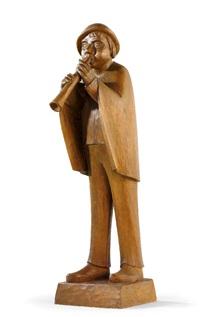 flötenspieler by fidelis bentele