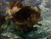zentaur und sirenen beim bade by giuseppe rivaroli
