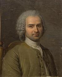 portrait of jean-jacques rousseau (1712-1778) by maurice quentin de la tour