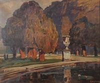 hampton court ii, london by rudolf hellwag