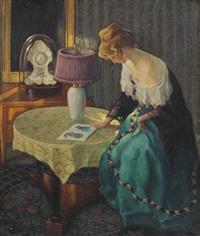 im damenzimmer by wilhelm hempfing