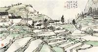 后源乡小景 by lin rongsheng