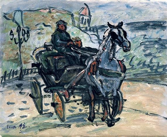 比利时马车 belgium wagon by luo zhongli