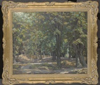 in epping forest by edwin harold glasbey