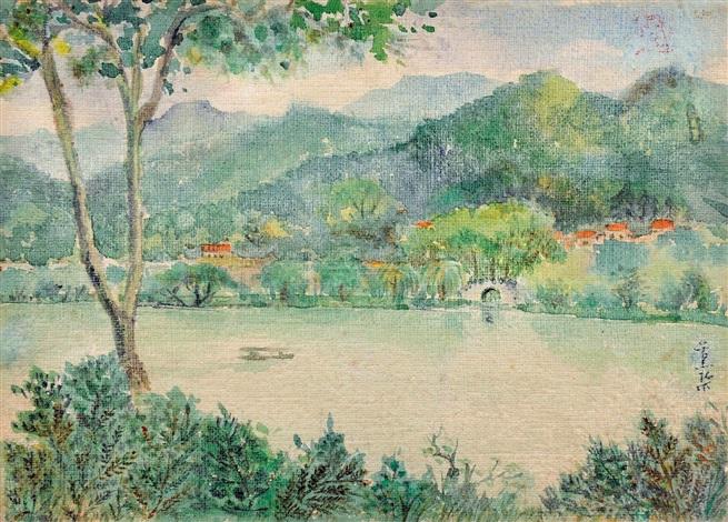 westlake by pang xunqin