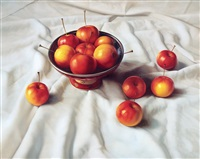 金玉满堂 (apples) by lin tairan