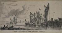 tocht schuijten of sparendammer vissers (from verscheyde schepen en gesichten van amstelredam) by reinier nooms