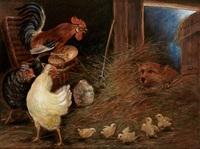 der fuchs im hühnerstall by carl bastini