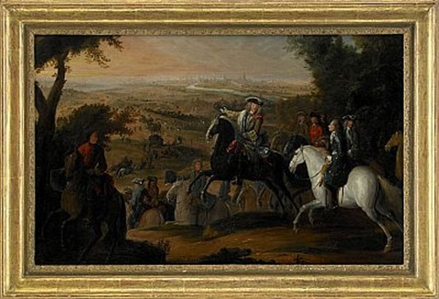belägring av staden courtrai by sauveur le conte