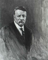 portrait of teddy roosevelt by warren w. lodder