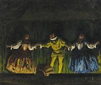 teaterscen by geza farago