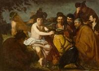 the triumph of bacchus by diego rodríguez de silva y velásquez