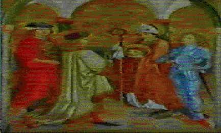 vier nothelfer in gewandern der renaissance sie entstammen einer gruppe von 14 heiligen by hans maler
