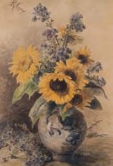stillleben mit sonnenblumen by rosalie gay