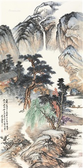 翠屏山阁 by liu huaishan