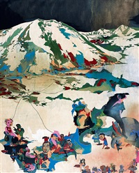 下青海系列 (close to qinghai series) by jiang nan