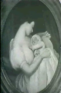 mother and child by emanuel gottlieb leutze