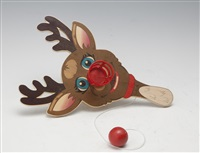 reindeer paddle (sold with 267b; set of 2) by jeff koons