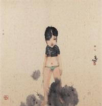 女孩 by liu qinghe